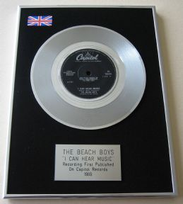 BEACH BOYS - I CAN HEAR MUSIC PLATINUM Single presentation DISC